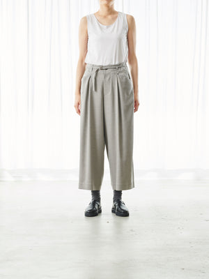 WIDE LEG TENCEL DRESS PANT