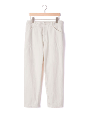 Open image in slideshow, TAPERED HERRINGBONE PANT