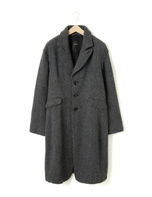Open image in slideshow, BISCHU WOOL COAT