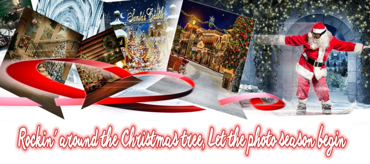 Christmas Holiday Decorations | Alba Backgrounds