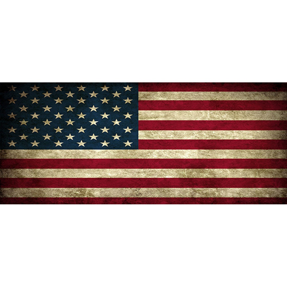 American Flag Fourth of July Backdrop, Stars and Stripes, Fireworks, Parade, Party Decor for an Americana 4th of July Photo Booth Photo Backdrop Alba Backgrounds 49.00 USD