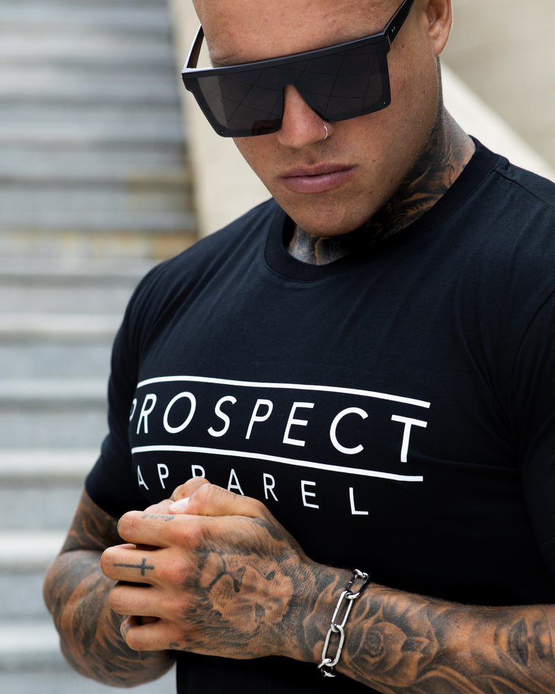 PA Classic T-shirt - Black - Prospect Apparel