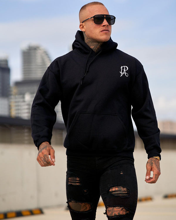 PA Pullover Tracksuit Hoodie - Black