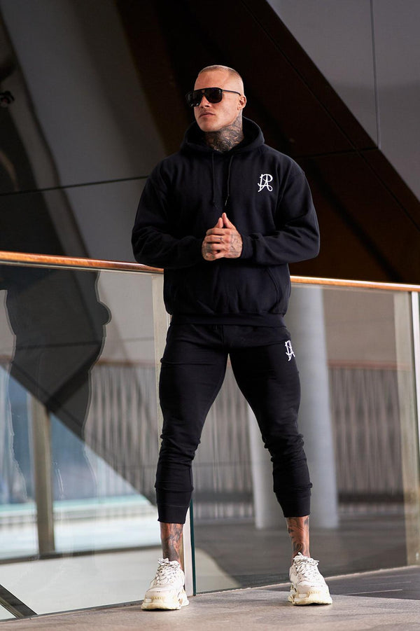 PA Tracksuit Bottoms - Black