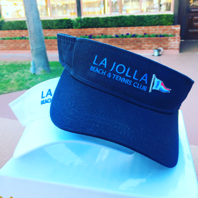 LJBTC Logo Athletic Velcro Visor