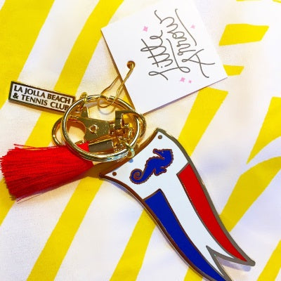 LJBTC Burgee Key Chain