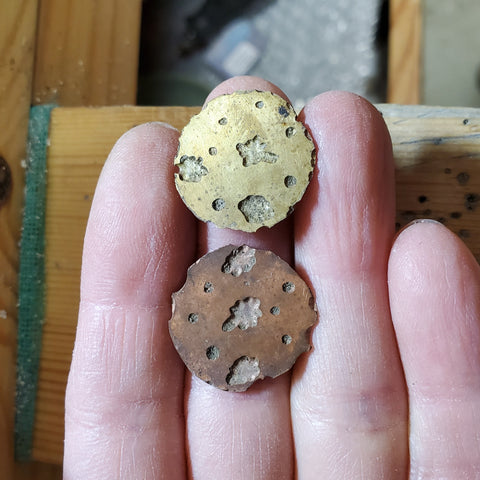 Brass and copper scraps