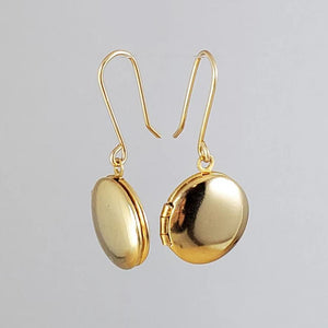 GP Locket Earrings
