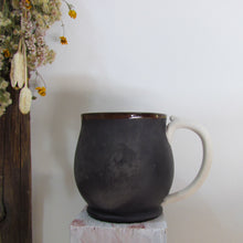 Load image into Gallery viewer, Burnished Black Mug
