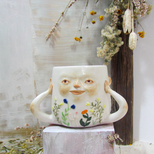 *NEW* Floral & Fungal Person Mug