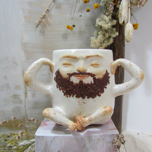 *NEW* Hairy Man Mug