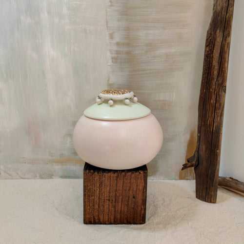 Mint and Rose Jar