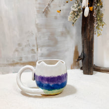 Load image into Gallery viewer, 8oz Rainbow Kitty Mug