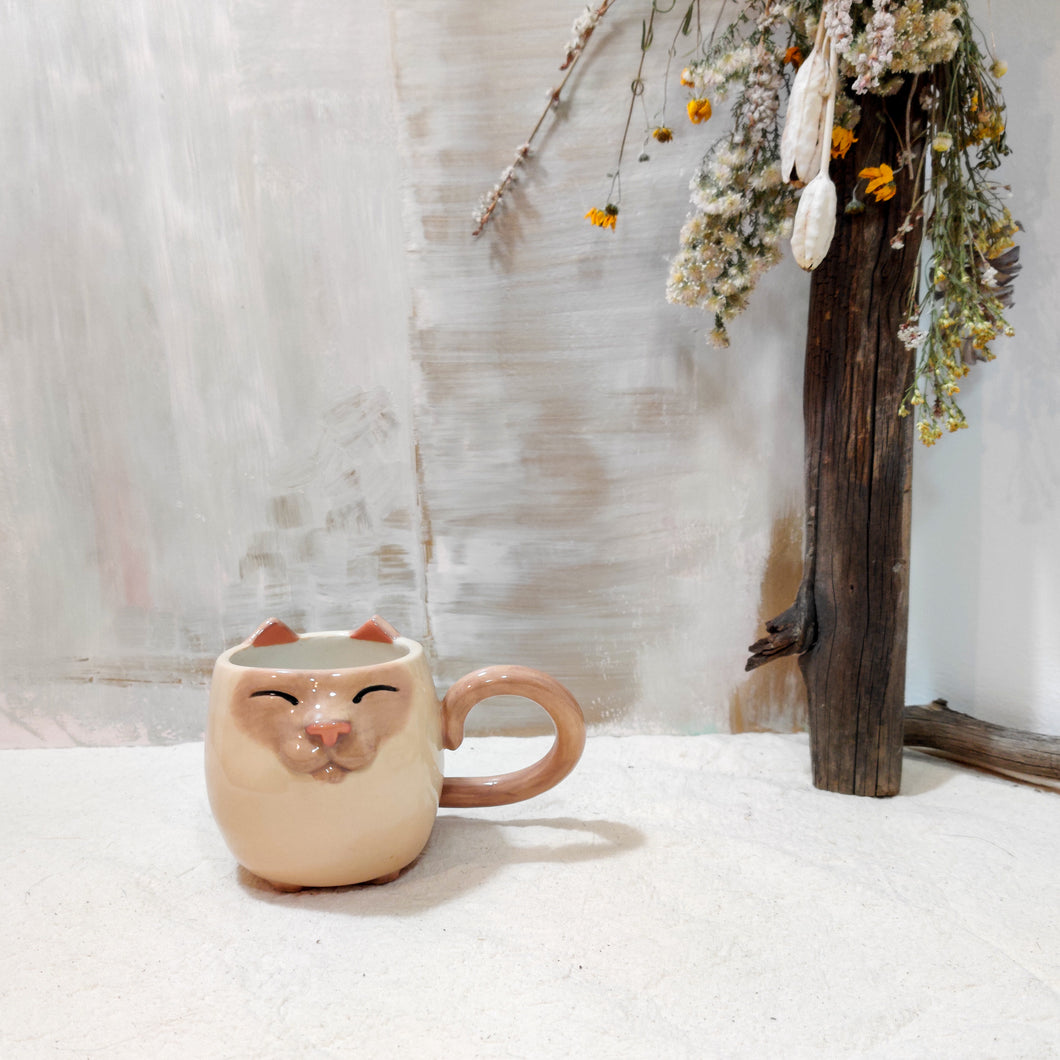 8oz Siamese Kitty Mug