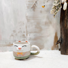 Load image into Gallery viewer, 6oz Bowtie Kitty Mug