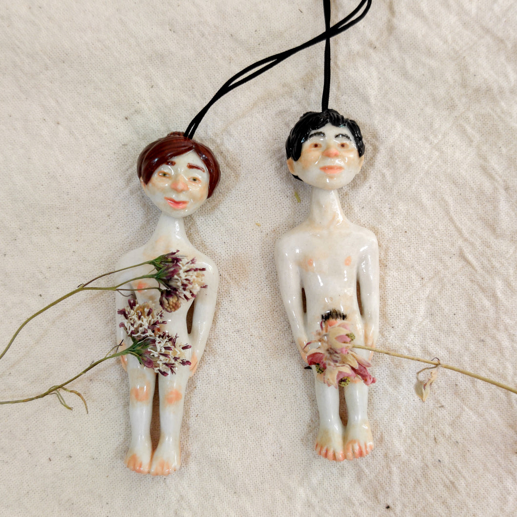 Nude Person Pendant