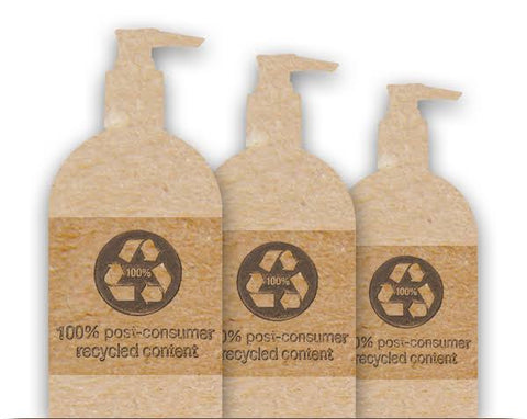 recycled packaging for skincare