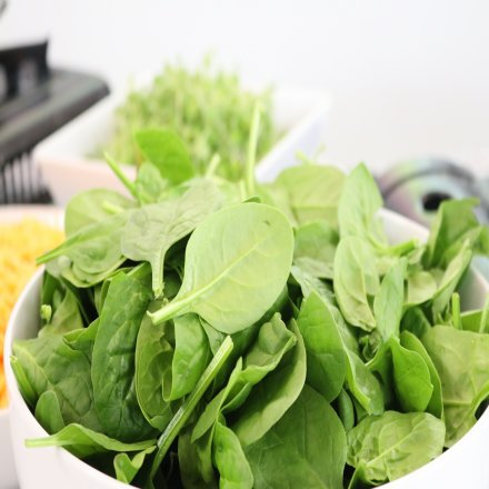 Spinach for Healthy Hair