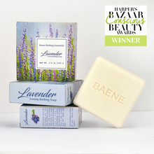 Load image into Gallery viewer, Lavender Bathing Soap. Pack of 3