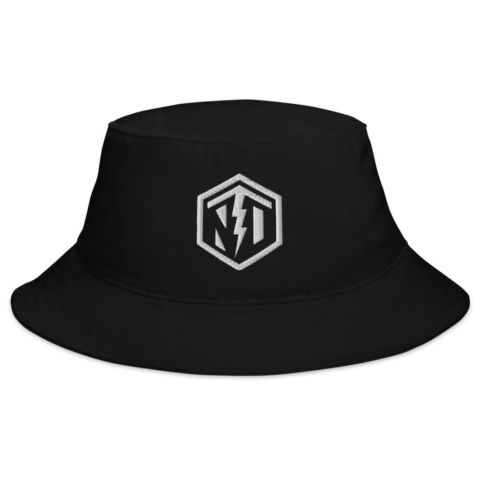 NTD Logo Bucket Hat - Black