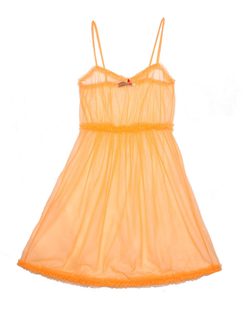 Tangerine night & day dress