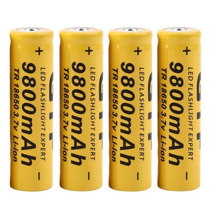 Extra Set of 4 Batteries 3.7V + Charger [50% Off]