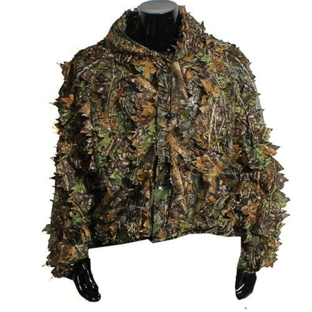 Camouflage Ghillie Leaf Hunting Suit