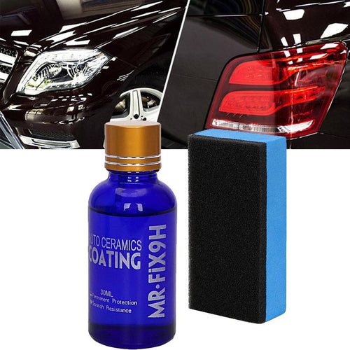 Liquid Nano Ceramic Coating 9H Car Protection Kit