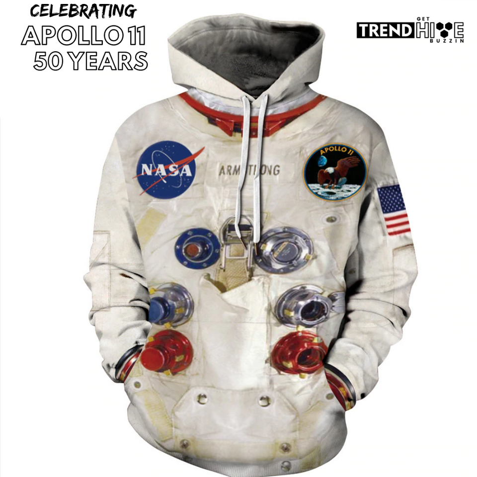 [50th Anniversary] 3D Armstrong Spacesuit Hoodie