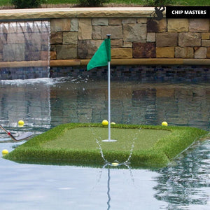 Chip Masters™ Floating Water Golf Putting Green
