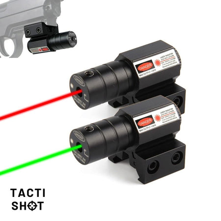 TACTISHOT™ RED/GREEN DOT LASER
