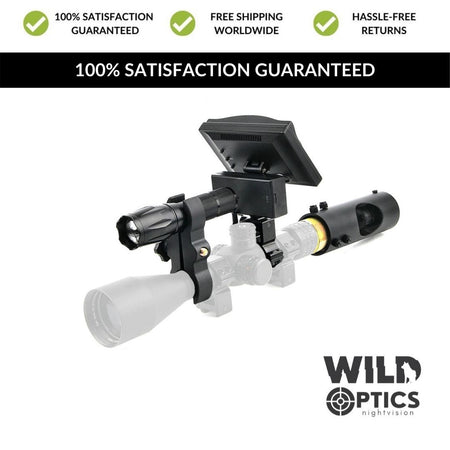 Wild Optics™ Night Vision IR Camera Scope Setup