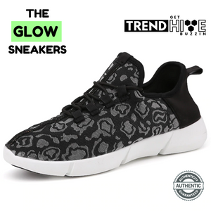 The GLOW Sneakers™ - Revolutionary Sneakers with Full Surface Fibre Optic LED