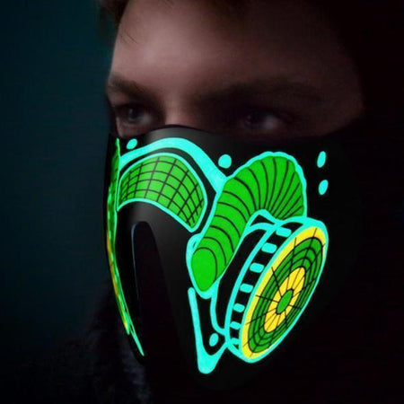RaveCultr™ LED Sound Activated Masks