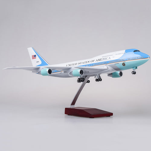 Air Force One Model Aircraft - Presidential Airplane Boeing 747