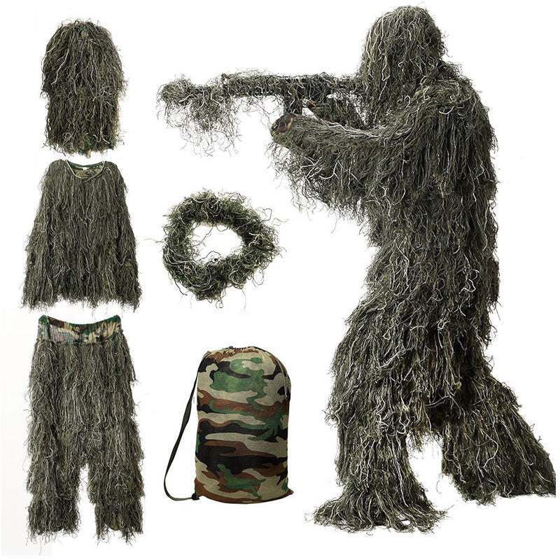 WildHunter™ Full Body Camo Ghillie Suit