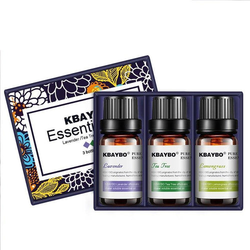 Organic Essential Oils (Pack of 3)