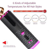 InstaCurl™ World's First Cordless Automatic Hair Curling Iron