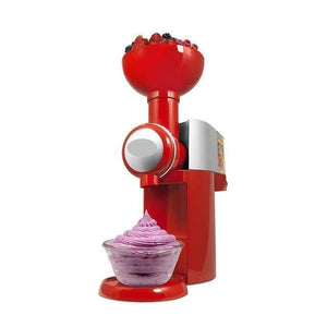 Fruitmagic Frozen Fruit Dessert Machine Red