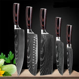 Japanese Professional Chef Knife Set