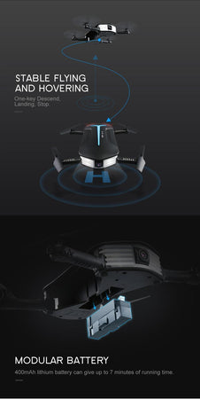Foldable Baby Elfie Drone with 720p Camera