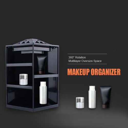 The Ultimate 360° Rotational Makeup Organizer