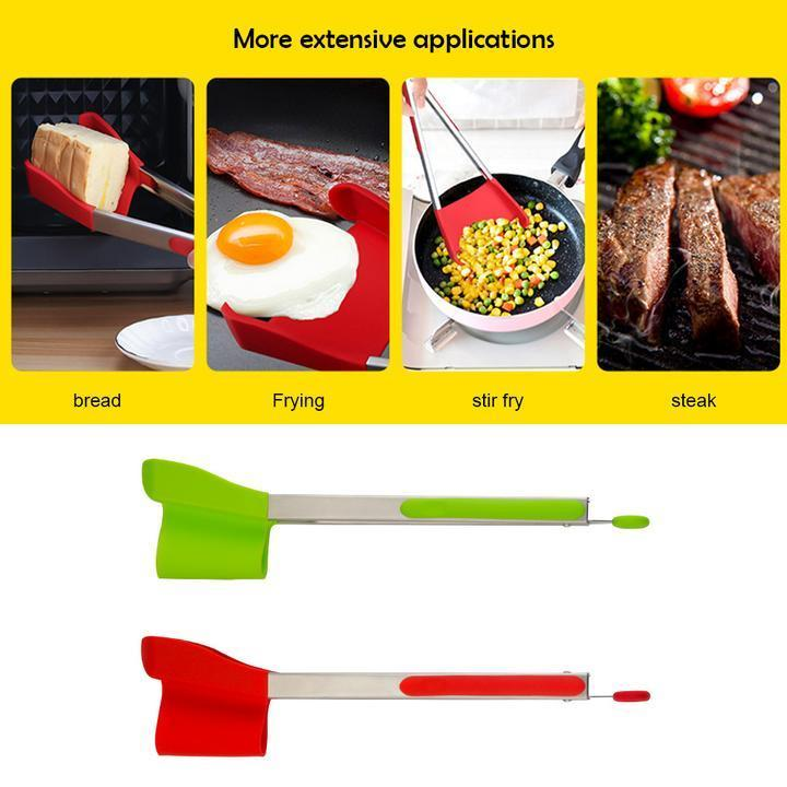 2-in-1 Spatula Tong