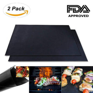 Easy BBQ Grilling Mat (Pack of 2)