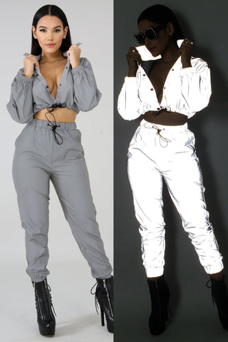 Reflective Tracksuit - Glow in The Dark