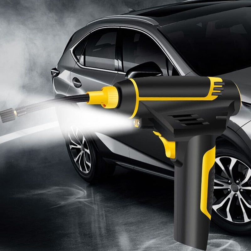 Digital LED Portable Tyre Inflator Air Pump