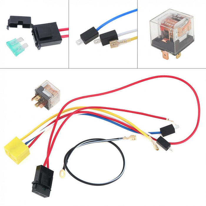 Wires and Relay Set For 12V Air Horn