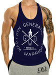 Classic Stringer Tank Top - Navy - Gym Generation-