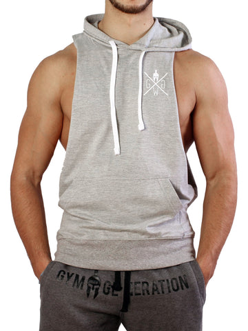 Fighter Tank Top - Grau - Gym Generation-
