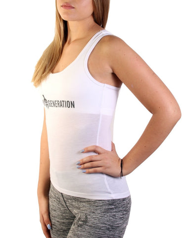 Fitness Top - Weiss - Gym Generation-